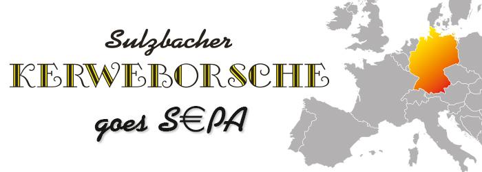Kerbeverein zieht Mitgliedsbeiträge erstmals im SEPA-Verfahren ein